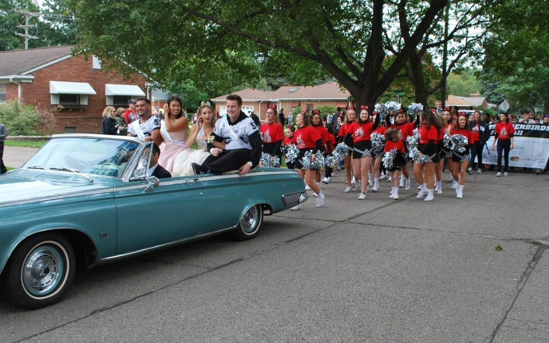 Homecoming parades planned at three traditional high schools