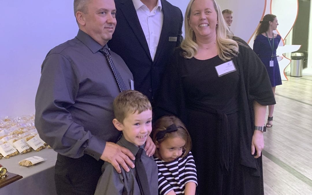 Modica receives Playworks 2019 Most Valuable Educator