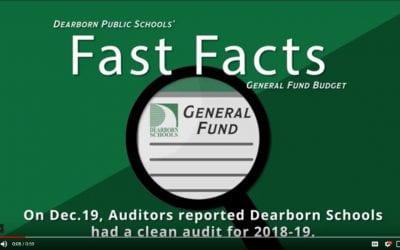 District receives clean audit report