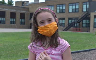 Students will likely need face masks when school reopens
