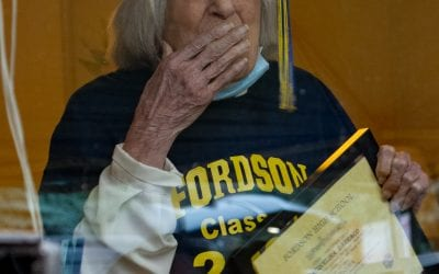 100-year-old former student receives honorary FHS diploma