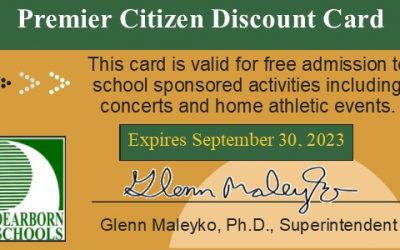 Older district residents can attend home sporting events free with Premier Citizens Card